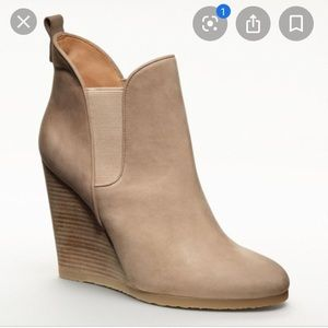 COACH Farrah Wedge Bootie